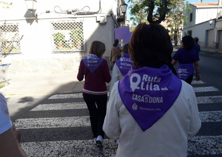 25 de Abril: Ruta Lila Carrús-Casablanca