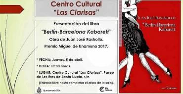 "Presentación del libro ""Berlín-Barcelona Kabarett"