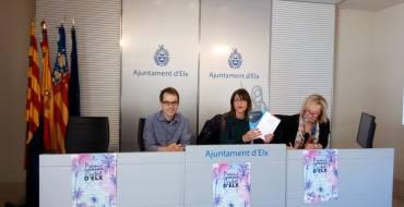 El Ayuntamiento presenta los Premios Literarios Ciutat d'Elx 2018