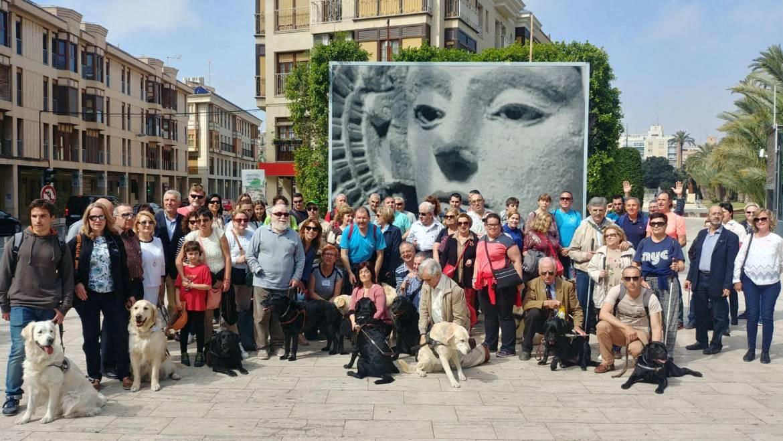 Elche se convierte en sede valenciana del Día Internacional del Perro Guía