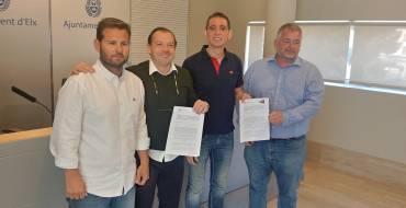 Deportes firma un convenio para la realización en Elche de un laboratorio de Bádminton Playa