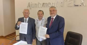 Conveni de col·laboració entre l'Hospital del Vinalopó i la Fundació de l'Esport Il·licità