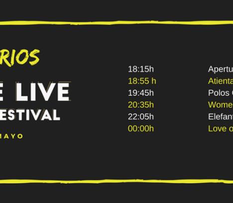 Elche Live music Festival 12 de maig
