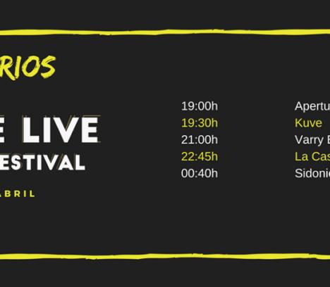 Elche Live Music Festival 20 de abril