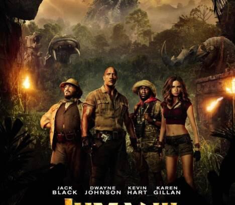 'Jumanji: bienvenidos a la jungla'