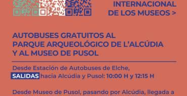 Autobuses gratis por el Día Internacional de los Museos