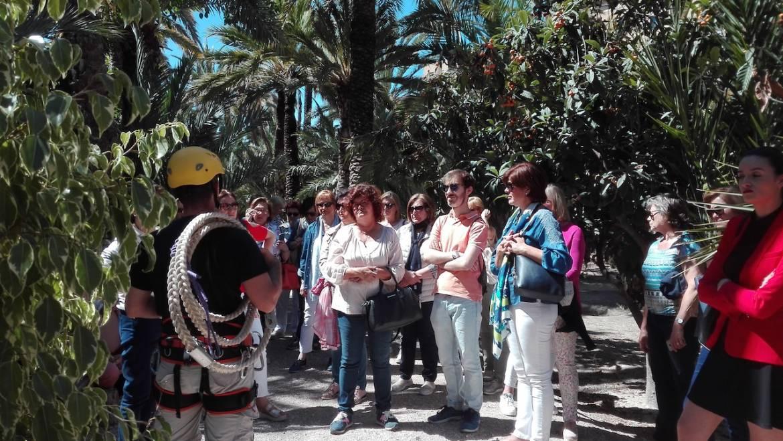 Visitelche acoge la visita de 200 participantes del XIV Congreso Nacional de Comunidades de Regantes de España