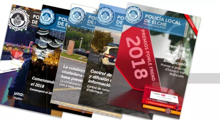 Revista Policia Local d'Elx – Maig 2018