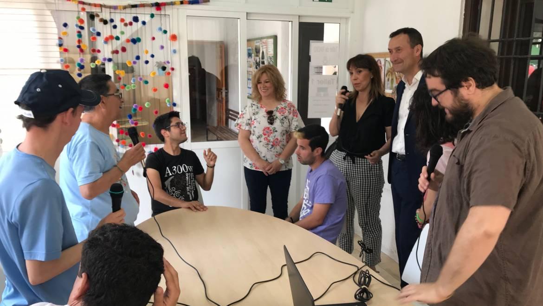 Visita a la sede de Intégra-T en la jornada de puertas abiertas