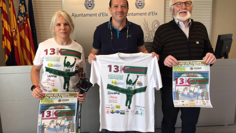 Elx acull la Copa d'Espanya i II Campionat Autonòmic de Marxa Nòrdica