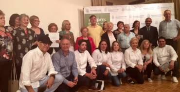Entrega de premios del concurso Super Chef Sénior
