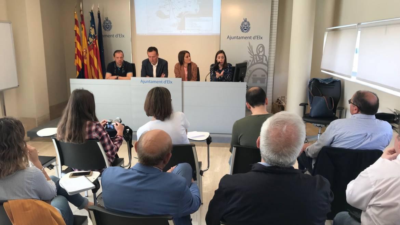L'Ajuntament presenta el projecte de servei públic de transport de viatgers per carretera a les pedanies d'Elx