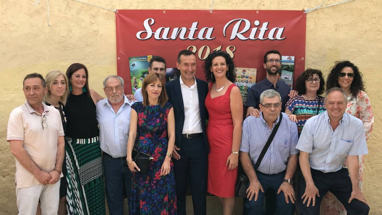 Més de 200 funcionaris celebren Santa Rita a Elx