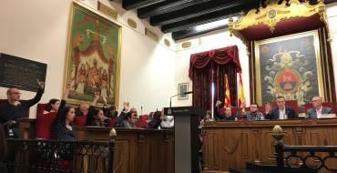 El ple aprova una moratòria de 90 dies en el projecte de conversió en zona de vianants de la Corredora