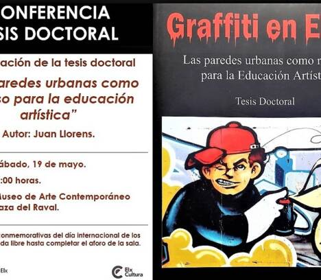 'Les parets urbanes com a recurs per a l'educació artística'