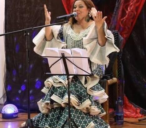 Yolanda García en Algorós