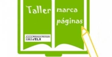 Taller de marcapáginas en la Biblioteca Pedro Ibarra