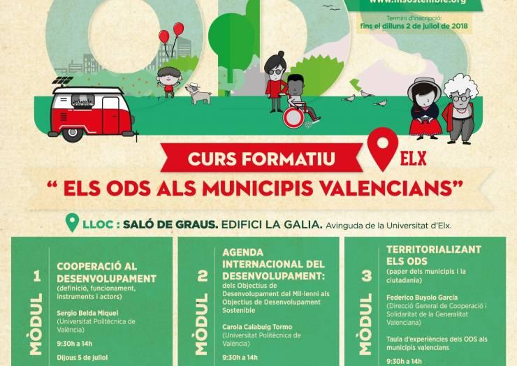 """Curso """"Los Objetivos de Desarrollo Sostenible en los municipios valencianos"""""""