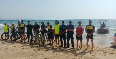 El Ayuntamiento presenta el dispositivo policial para la época estival en las playas de Elche