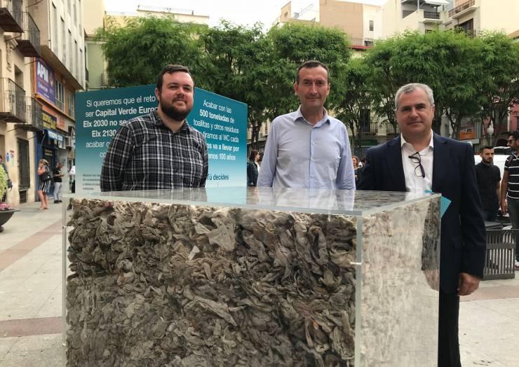 Els danys que causen les 500 tones de tovalloletes que es tiren al vàter cada any a Elx costen més de 900.000 euros
