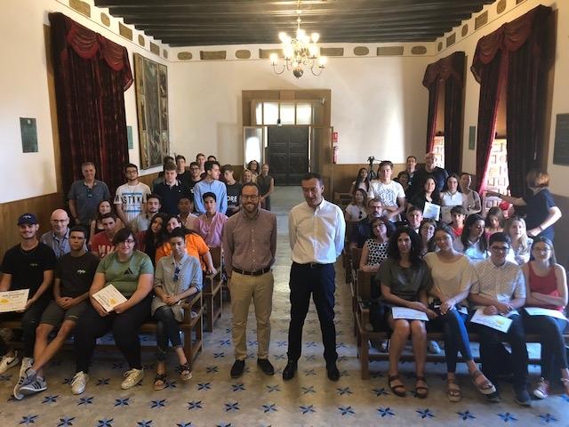 """Entrega de los premios del Concurso """"Ideas Emprendedoras 2018"""""""