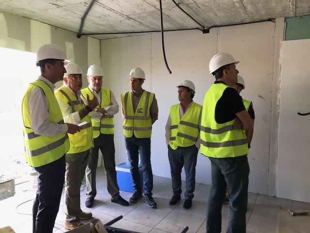El alcalde confía en que el segundo bloque de San Antón esté finalizado a finales de año