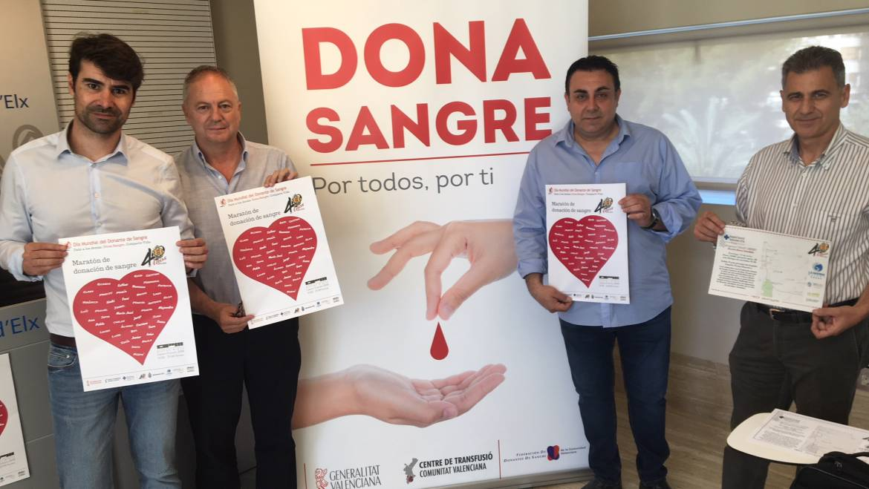 El Centro de Congresos acoge el próximo lunes una maratón de sangre