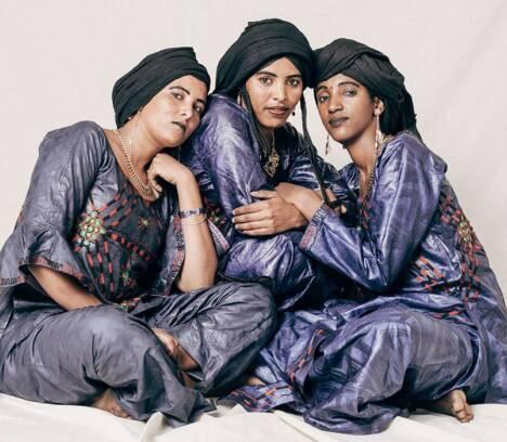 Les filles de illighadad en L'Escorxador de Elche