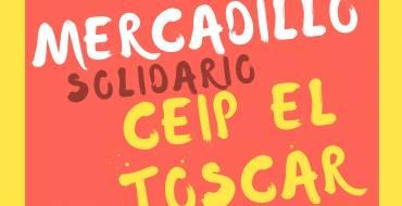 Mercadillo solidario CEIP El Toscar