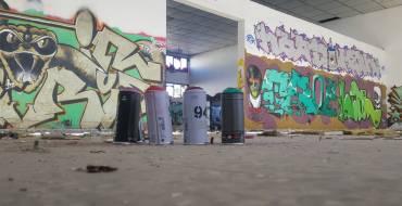 Detenido grafitero por daños en fachadas de inmuebles privados y municipales