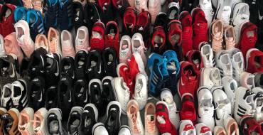 Intervención de calzado por presunto delito contra la propiedad intelectual