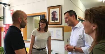El alcalde asiste a la clausura de curso del aula de autismo del CEIP Jorge Guillén