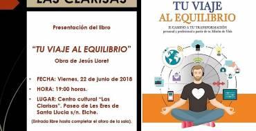 Presentació 'Tu viaje al equilibrio' de Jesús Lloret