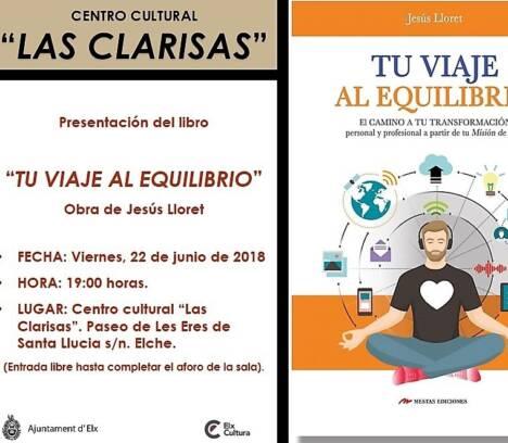 Presentación 'Tu viaje al equilibrio' de Jesús Lloret