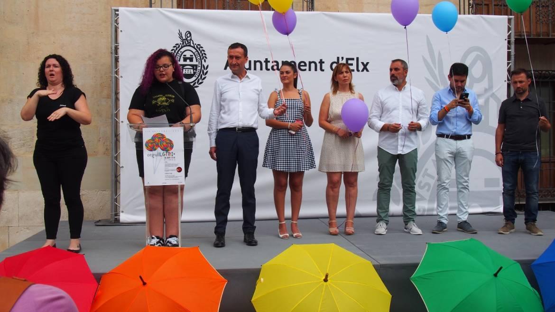 La Corporación Municipal apoya el Día Internacional LGTBI 2018