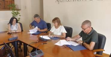 Firma del convenio de colaboración con Aspanias