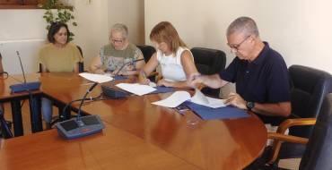 El Ayuntamiento firma un convenio con ASFEME