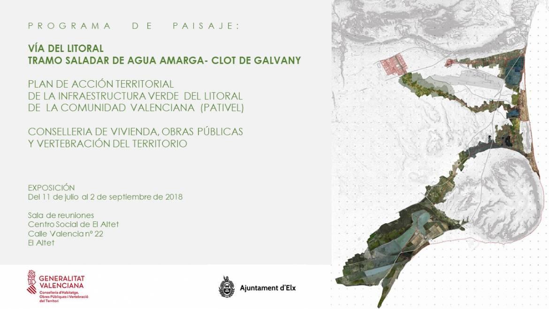 Inauguración de la exposición del Tramo Saladar Agua Amarga-Clot de Galvany