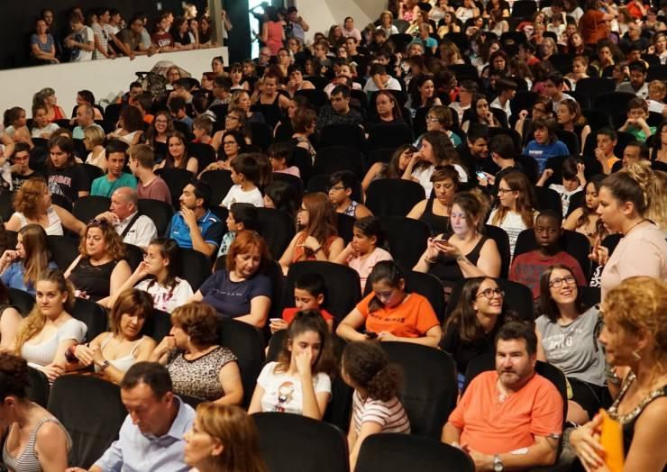 Inauguració de l'Escola Oberta d'Estiu