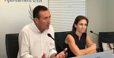 El Ayuntamiento de Elche destina 4,3 millones del remanente de tesorería a obras de accesibilidad, alumbrado y zonas deportivas