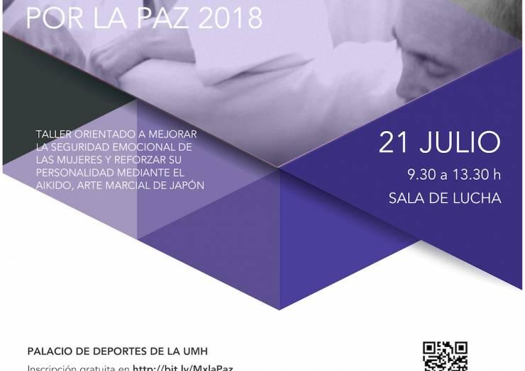 """III Encuentro """"Mujeres por la Paz""""-2018"""