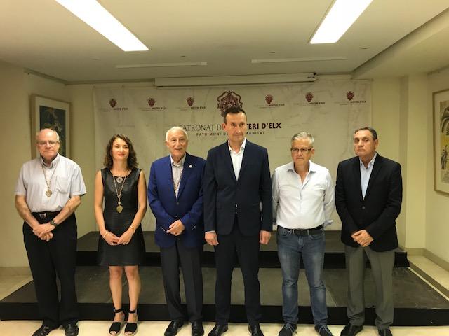 La Junta Rectora del Misteri elige por unanimidad al empresario Francisco Borja como presidente