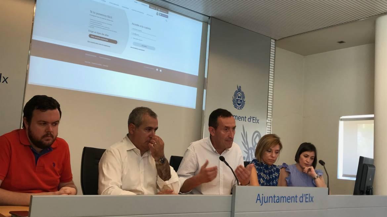 La nueva web de Aigües d'Elx acerca los servicios de la empresa mixta a sus más de 120.000 clientes