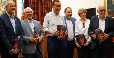 Presentación de la revista Moros y Cristianos, mantenedoras y Jaime I