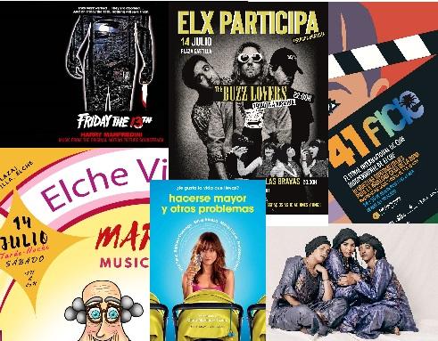 Agenda Cultural fin de semana del 13 al 15 de julio