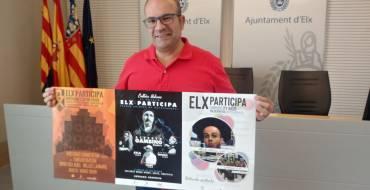 El raper Alberto Gambino actua aquest cap de setmana al parc Primer de Maig dins del programa Elx Participa