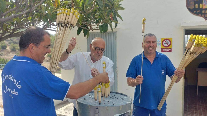 La Pirotecnia Ferrández ultima los preparativos para la Nit de l'Albà