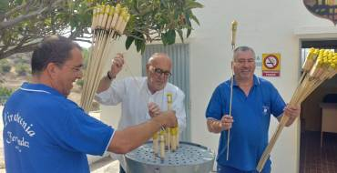 La Pirotecnia Ferrández ultima els preparatius per a la Nit de l'Albà