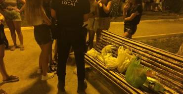 Vigilancia nocturna del día 9 por fiestas patronales