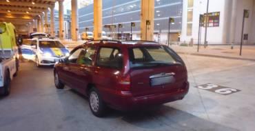 Movilidad Urbana recupera un vehículo con matrícula falsa y su conductor es detenido